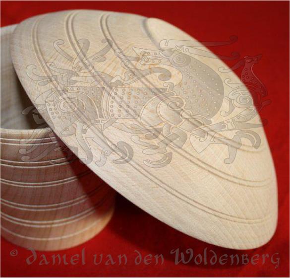 Schale, Typ 1 nach Westphal, Haithabu; Original: Ahorn (hier Buche)